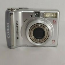 Canon PowerShot A550 IS 7.1 MP Digital Camera