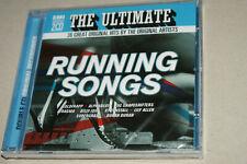 RUNNING SONGS  * EMI - DOUBLE CD ALBUM *  36 GREAT ORIGINAL HITS  * NEW & SEALED