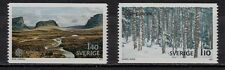 37F** Lot x2 Timbres SVERIGE / SUEDE SWEDEN (EUROPA 1977) Neuf**MNH