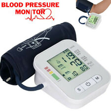 Digital Automatic Blood Pressure Monitor Upper Arm BP Machine With Large Cuff US