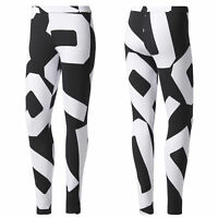 adidas Originals Bold Age Damen Leggings Freizeit Tight Leggins schwarz/weiß