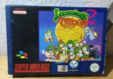 "SNES  ""LEMMINGS 2  : THE TRIBES""  PAL COMPLETO SUPER NINTENDO"