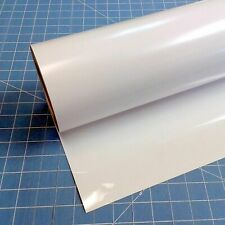 White Self Adhesive Vinyl roll indoor and outdoor GLOSS Sticker Stick Waterproof