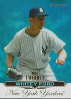 2011 Topps Tribute Blue #55 Whitey Ford /199 - NM-MT
