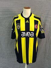 maglia calcio shirt maillot camiseta trikot FENERBAHCE TG.L
