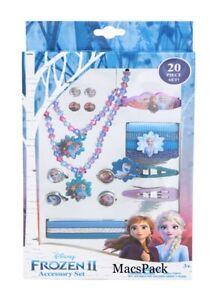 Disney Frozen 2 Accessory Set Bracelet Necklace Earrings Ponies Gift