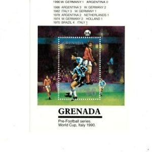 Grenada - 1990 - Pre-Football O/P Winner - Souvenir Sheet - MNH (Scott#1727A)
