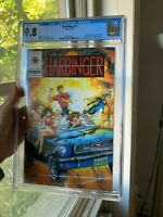 Harbinger 1. CGC 9.8. Valiant. White Pages!