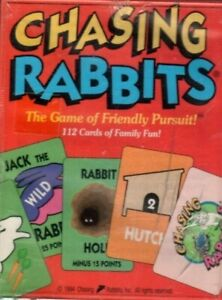 Chasing Rabbits Card Game: A Game of Friendly Pursuit!