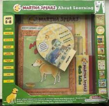 Martha Speaks About Learning CD Rom Story Books Stickers Poster Boxed Set NIB