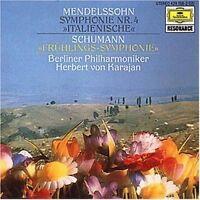 Mendelssohn-Bartholdy Sinfonie Nr. 4, op. 90 'Italienische'/Schumann: Sin.. [CD]
