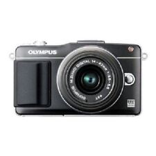 USED Olympus E-PM2 16MP with 14-42mm Black Excellent FREE SHIPPING