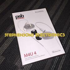 BrandNewAuthentic PSB M4U4 M4U 4 High-Definition In-Ear Monitor (Arctic White)