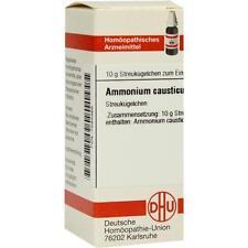 AMMONIUM CAUSTICUM D 12 Globuli 10g PZN 7594468
