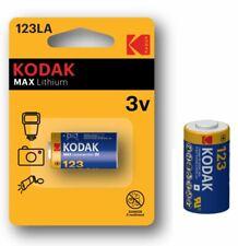 Pile 123LA Kodak CR123A DL123LA K123LA EL123LA 123LA-1 Max Lithium 3V pile photo