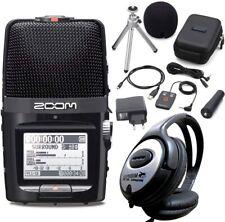 Zoom H2n Handy Recorder + Zubehör Set + keepdrum Kopfhörer