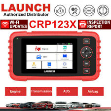 LAUNCH X431 CRP123X Code Reader OBD2 Car Diagnostic Scanner Tool Engine 4 System