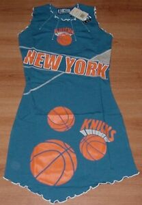 New York Knicks Ladies Jersey Dress Large NBA For Her Womens Smart Sexy
