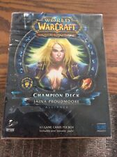 World Of Warcraft TCG Champion Deck Jaina Proudmoore Alliance