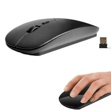 USB Optical Wireless Mouse 2.4 Ghz Scroll Cordless For Windows Mac Laptop PC