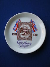 Crown Staffordshire Pin Dish  ' Cadbury 1831 -1981