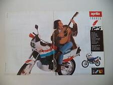 advertising Pubblicità 1988 MOTO APRILIA TUAREG WIND 125