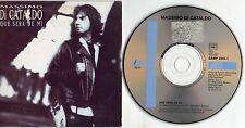 MASSIMO DI CATALDO CD single PROMO in SPAGNOLO Que sera de mi