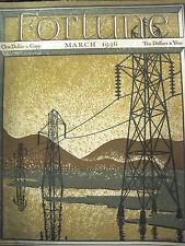 FORTUNE, March 1936 Alf Landon, 1930's Manhattan night life, US Steel, Autogiro