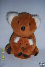 1992 Plush Koala Teddy Bear Momma & Baby Toy