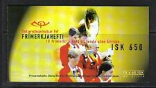 Iceland 1998 Europa/Festivals complete booklet--Attractive Topical (861) MNH