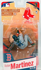 McFARLANE MLB Series # 26_VICTOR MARTINEZ Gray Variant figure_Boston RED SOX_MIP