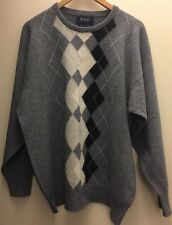 Pringle 100% Cashmere Argyle Sweater - Perfect Cond. from Scotland
