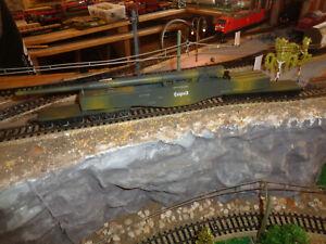 "LIMA COLLECTION L303500 - Schweres Eisenbahn-Geschütz K5 ""Leopold"" in OVP - A99."