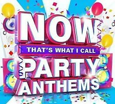 NOW THAT'S WHAT I CALL PARTY ANTHEMS Various Artists Audio Music CD Track New