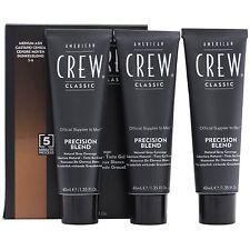 American crew colore uomo Precision Blend 5-6 castano chiaro da 40 ml x 3