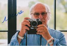 Carlos saura autógrafo signed 20x30 cm imagen