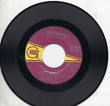 HIGH INERGY disco 45 giri  WE ARE THE FUTURE +   HIGH SCHOOL Made in USA 1978