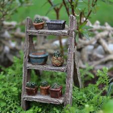 Miniature Dollhouse FAIRY GARDEN Accessories - Plant Ladder
