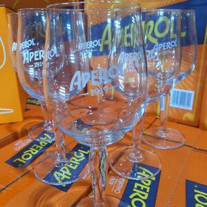 Aperol Spritz Glas 1919 Cristalline Gläser Neu 6 Stk.