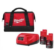 Pack Batterie et Chargeur Milwaukee 12v M12 Nrg-201 4933451900