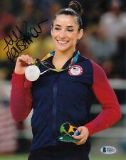 Aly Raisman #0 Signed 8 X 10 Photo Beckett Certified Olympics