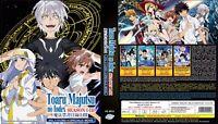 A Certain Magical Index (Season 1 - 3 + 4 SP + Movie) ~ 8-DVD ~ English Version