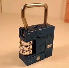 Metal Joe MJ-01 Transformers - BANDAI Lock