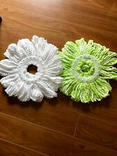 Hurricane Spin Mop Replacement Heads x 2 with FREE POSTAGE and HANDLINGi