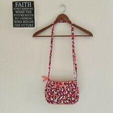 Vera Bradley Pixie Confetti Polka Dot Quilted Crossbody Shoulder Bag Purse Small