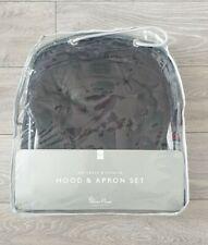 Silver Cross Wayfarer & Pioneer Hood & Apron Set Graphite Black