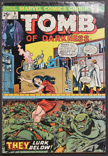 1974 Tomb Of Darkness 9-13 ~ 5 Issue Lot  ~ HIGH GRADE