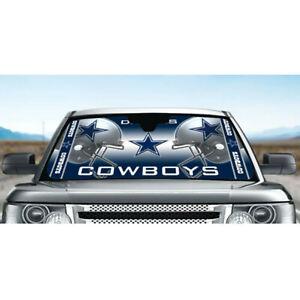Dallas Cowboys Car Windshield Sun Visor Shade Blocks UV Rays Protector Cover NEW