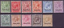 Nauru 1916 SC 1-12 MH Set