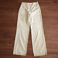 Vintage 60s Filson CC Co Khaki Outdoor Thrashed Talon Zipper Pants 30x32